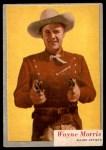 1953 Topps Who-Z-At Star #67  Wayne Morris  Front Thumbnail