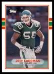 1989 Topps Traded #49 T Jeff Lageman  Front Thumbnail