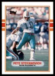 1989 Topps Traded #84 T Pete Stoyanovich  Front Thumbnail