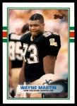1989 Topps Traded #118 T Wayne Martin  Front Thumbnail