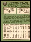 1967 Topps #595  Cookie Rojas  Back Thumbnail