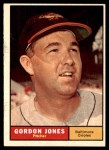 1961 Topps #442  Gordon Jones  Front Thumbnail