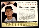 1961 Post #126 COM Vern Law   Front Thumbnail