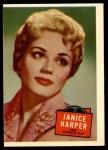 1957 Topps Hit Stars #45  Janice Harper   Front Thumbnail