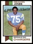 1973 Topps #38  Deacon  Jones  Front Thumbnail