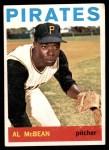 1964 Topps #525  Al McBean  Front Thumbnail