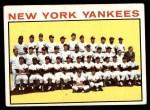 1964 Topps #433   Yankees Team Front Thumbnail