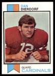 1973 Topps #322  Dan Dierdorf  Front Thumbnail