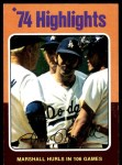 1975 Topps #6   -  Mike Marshall Marshall Hurls In 106 Games Front Thumbnail
