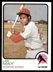 1973 Topps #135  Lee May  Front Thumbnail