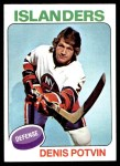 1975 Topps #275  Denis Potvin   Front Thumbnail