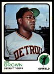 1973 Topps #633  Ike Brown  Front Thumbnail