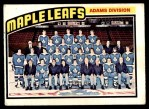 1976 O-Pee-Chee NHL #147   Maple Leafs Team Front Thumbnail