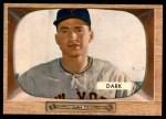 1955 Bowman #2  Al Dark  Front Thumbnail