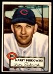 1952 Topps #142 CRM Harry Perkowski  Front Thumbnail
