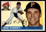 1955 Topps #118  Bob Purkey  Front Thumbnail
