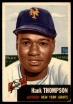 1953 Topps #20  Hank Thompson  Front Thumbnail