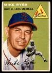 1954 Topps #237  Mike Ryba  Front Thumbnail