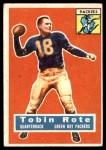 1956 Topps #55  Tobin Rote  Front Thumbnail