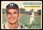 1956 Topps #69  Chuck Tanner  Front Thumbnail