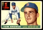 1955 Topps #83  Tom Brewer  Front Thumbnail