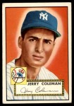 1952 Topps #237  Jerry Coleman  Front Thumbnail