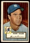 1952 Topps #215  Hank Bauer  Front Thumbnail