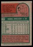 1975 Topps Mini #133  Dan Driessen  Back Thumbnail