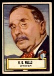 1952 Topps Look 'N See #119  H.G. Wells  Front Thumbnail