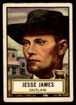 1952 Topps Look 'N See #57  Jesse James  Front Thumbnail