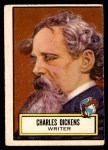 1952 Topps Look 'N See #125  Charles Dickens  Front Thumbnail