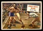 1954 Topps Scoop #39   -  Jack Dempsey Dempsey Defeats Williard  Front Thumbnail