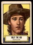 1952 Topps Look 'N See #63  Billy the Kid  Front Thumbnail