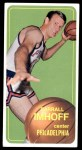 1970 Topps #57  Darrall Imhoff   Front Thumbnail
