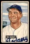 1951 Bowman #153  Rex Barney  Front Thumbnail