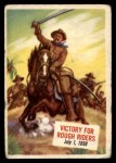 1954 Topps Scoop #13   Victory For Rough Riders Front Thumbnail