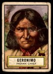 1952 Topps Look 'N See #56  Geronimo  Front Thumbnail