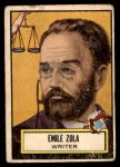 1952 Topps Look 'N See #121  Emile Zola  Front Thumbnail