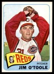 1965 Topps #60  Jim O'Toole  Front Thumbnail