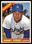1966 Topps #468  Johnny Podres  Front Thumbnail
