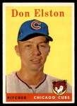 1958 Topps #363  Don Elston  Front Thumbnail