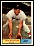 1961 Topps #99  Don Buddin  Front Thumbnail