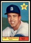 1961 Topps #151  Jim Donohue  Front Thumbnail