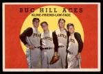 1959 Topps #428   -  Ron Kline / Bob Friend / Vern Law / Roy Face Buc Hill Aces Front Thumbnail