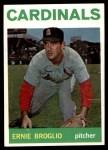 1964 Topps #59  Ernie Broglio  Front Thumbnail