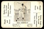1936 S&S Game  Bill Herman  Front Thumbnail