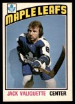 1976 O-Pee-Chee NHL #294  Jack Valiquette  Front Thumbnail