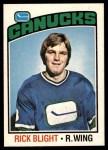 1976 O-Pee-Chee NHL #238  Rick Blight  Front Thumbnail