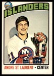 1976 O-Pee-Chee NHL #29  Andre St.Laurent  Front Thumbnail