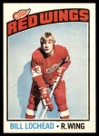 1976 O-Pee-Chee NHL #122  Billy Lochead  Front Thumbnail
